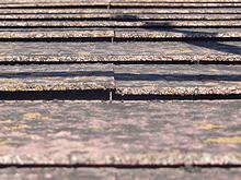 屋根材の反りイメージ