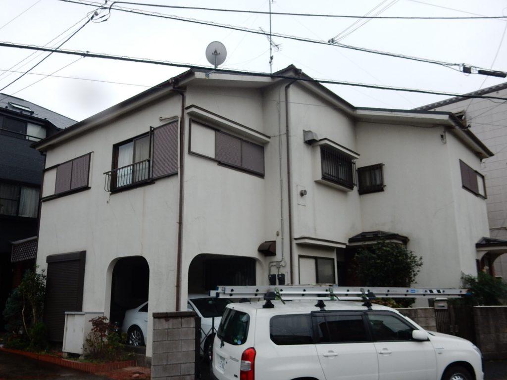 【横浜市磯子区】2階建戸建て外壁塗装パーフェクトトップ before1