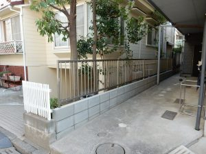 外構フェンス工事【横浜市港北区】 after