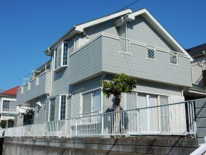 【横浜市港北区】2階建戸建て外壁塗装パーフェクトトップ after