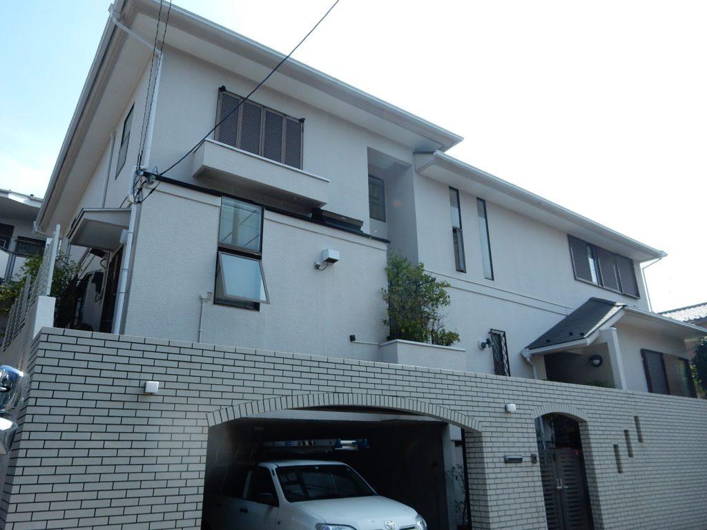 外壁塗装、屋根塗装【横浜市神奈川区】パーフェクトトップ before2