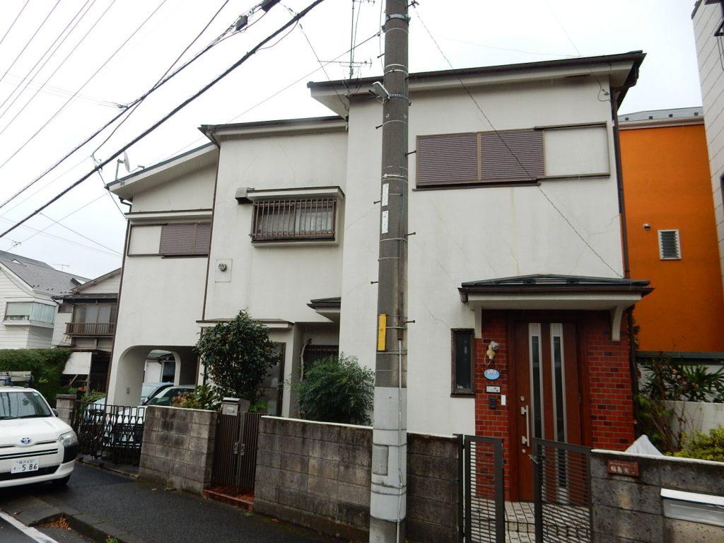 【横浜市磯子区】2階建戸建て外壁塗装パーフェクトトップ before2