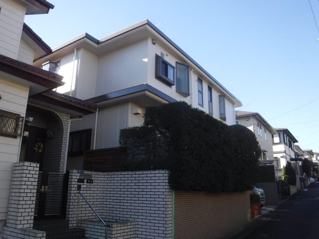 【横浜市旭区】 戸建て塗装外壁 パーフェクトトップ after2