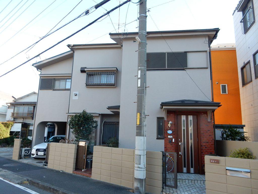 【横浜市磯子区】2階建戸建て外壁塗装パーフェクトトップ after2