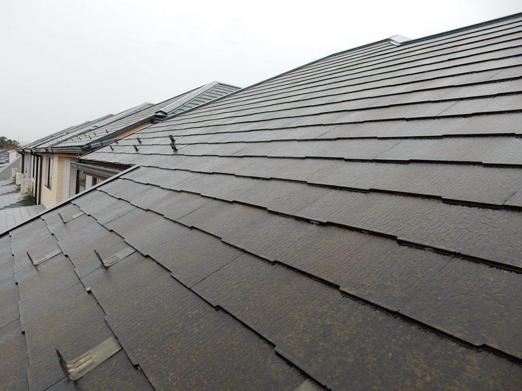 【横浜市磯子区】 3F戸建て塗装外壁 パーフェクトトップ 屋根 サーモアイSi before3