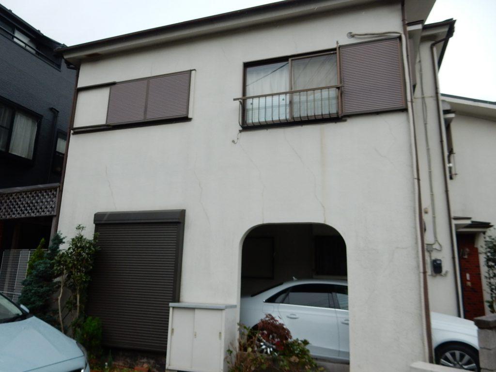 【横浜市磯子区】2階建戸建て外壁塗装パーフェクトトップ before3