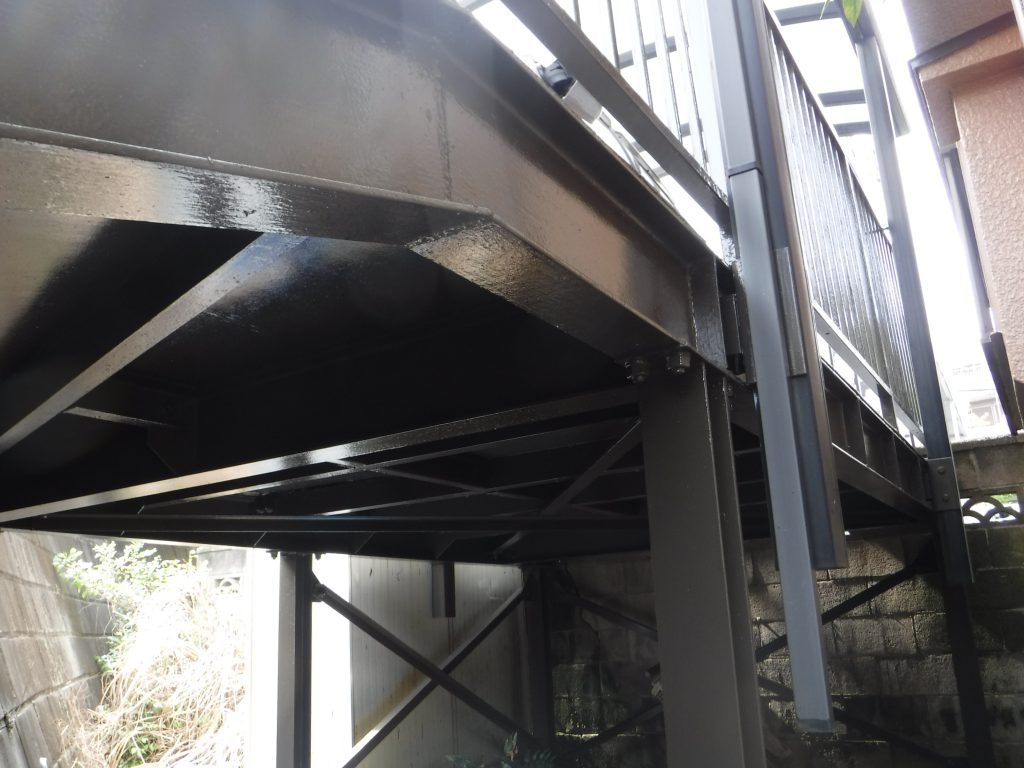 【横浜市神奈川区】外壁塗装、鉄骨腐食の補修パーフェクトトップ after3