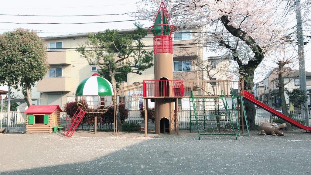 幼稚園遊具の塗装工事【座間市】 after1