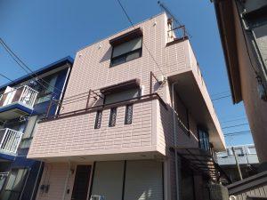 外壁塗装【横須賀市】水性シリコンセラUV after