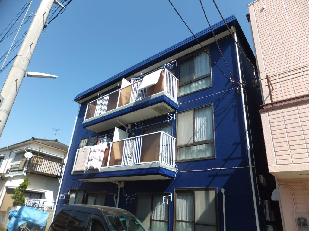 アパート外壁塗装【横須賀市】水性シリコンセラUV after1