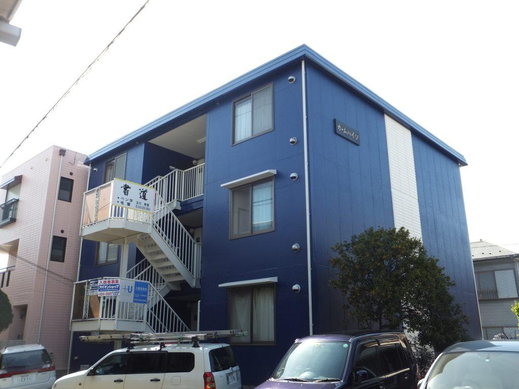 アパート外壁塗装【横須賀市】水性シリコンセラUV after2